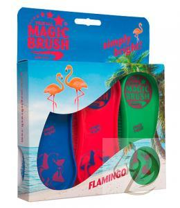 Kartáč Magic Brush sada Flamingo